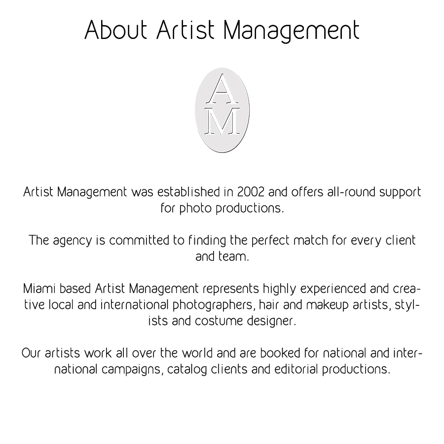 Welcome To Artist Management
